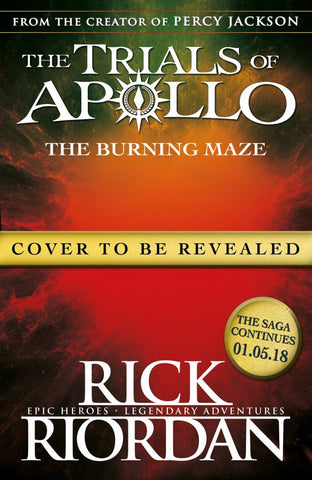 Burning Maze (the Trials of Apollo Book 3) The  by Rick Riordan - 9780141364001
