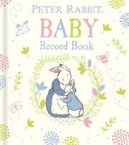 Peter Rabbit Baby Record Book  by Beatrix Potter - 9780141370033