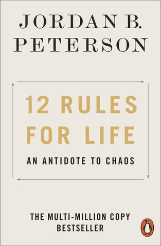 12 Rules for Life  by Jordan B. Peterson - 9780141988511