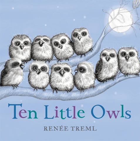Ten Little Owls  by Renee Treml - 9780143780564