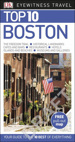 DK Eyewitness Top 10 Travel Guide - Boston