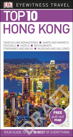 DK Eyewitness Top 10 Travel Guide - Hong Kong
