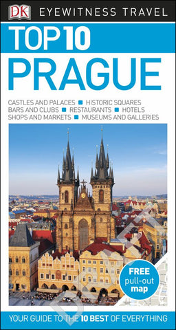 DK Eyewitness Top 10 Travel Guide - Prague