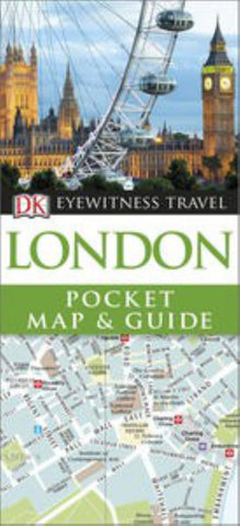 DK Eyewitness Pocket Map and Guide - London