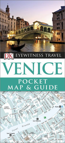 DK Eyewitness Pocket Map and Guide - Venice