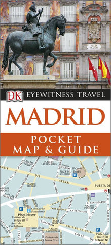 DK Eyewitness Pocket Map and Guide Madrid