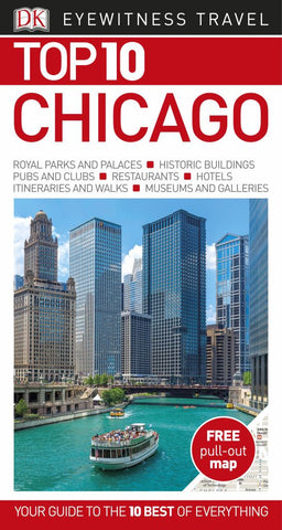 DK Eyewitness Top 10 Travel Guide Chicago  by DK - 9780241259641