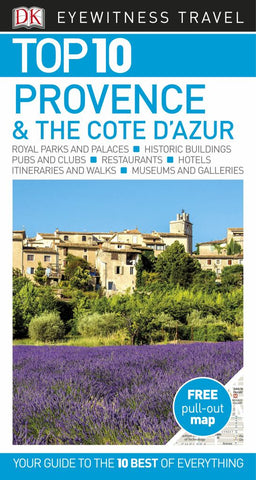 DK Eyewitness Top 10 Travel Guide Provence and the Cote D'Azur