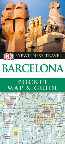 Barcelona- Dk Eyewitness Pocket Map and Guide  by Dk - 9780241309230