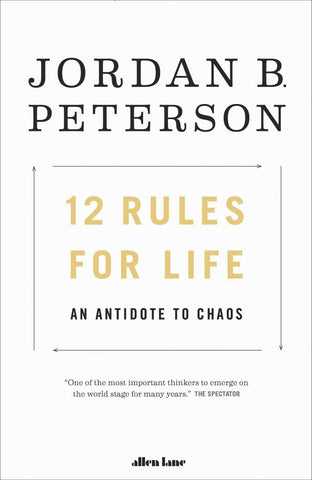 12 Rules for Life  by Jordan B. Peterson - 9780241351642