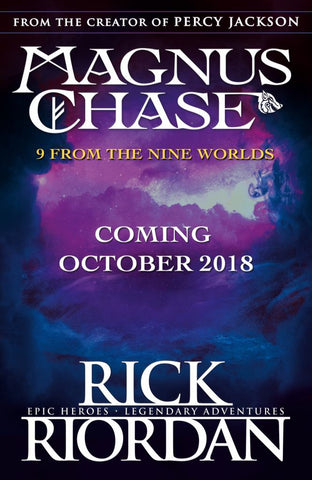 9 from the Nine Worlds  by Rick Riordan - 9780241359440