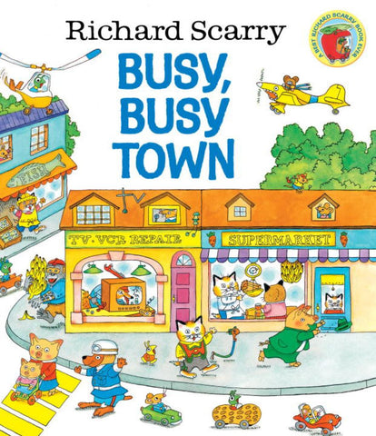 Busy, Busy Town  by Richard Scarry (Illustrator) - 9780307168030