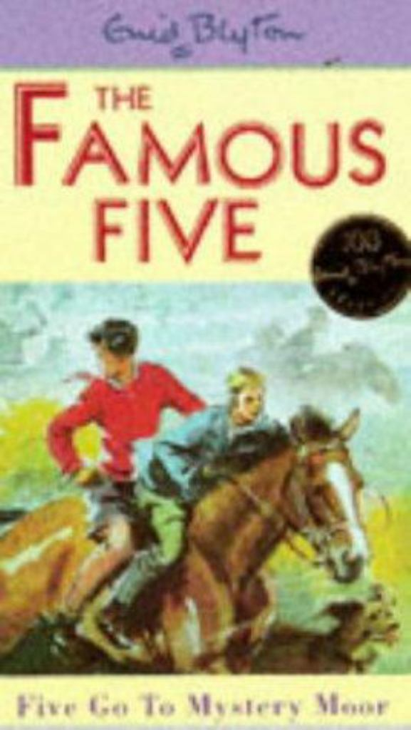 Five Go to Mystery Moor  by Enid Blyton - 9780340681183