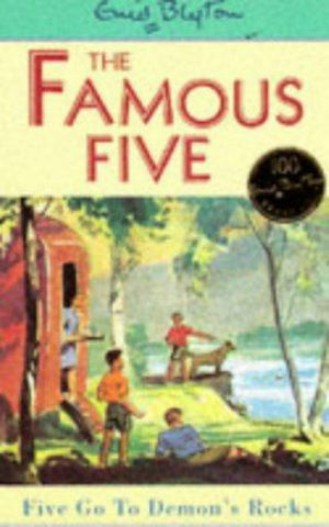 Five Go to Demon's Rocks  by Enid Blyton - 9780340681244