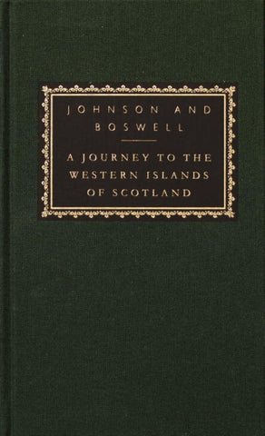 A Journey to the Western Islands of Scotland  by Samuel Johnson - 9780375414183
