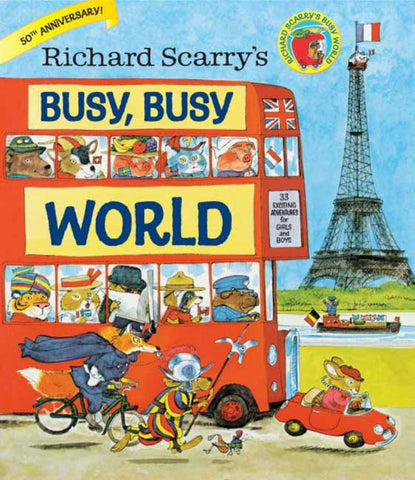 Busy, Busy World  by Richard Scarry (Illustrator) - 9780385384803