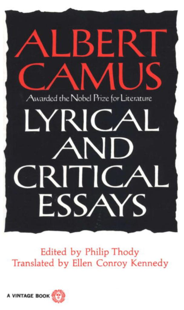 Lyrical and Critical Essays  by Albert Camus - 9780394708522