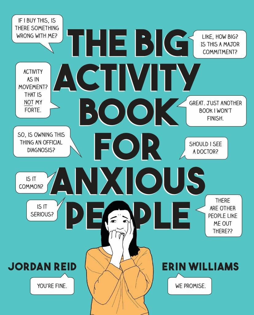 The Big Activity Book for Anxious People  by Jordan Reid - 9780525538066
