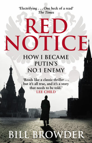 Red Notice  by Bill Browder - 9780552170321