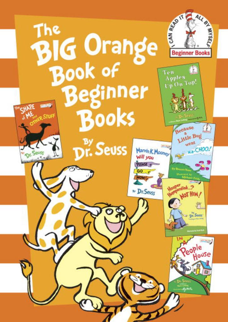 The Big Orange Book of Beginner Books  by Dr. Seuss - 9780553524253