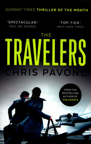 The Travelers  by Chris Pavone - 9780571298914