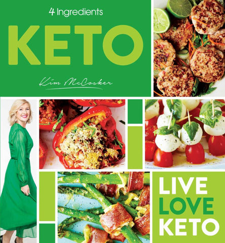 4 Ingredients Keto  by Kim McCosker - 9780648485117