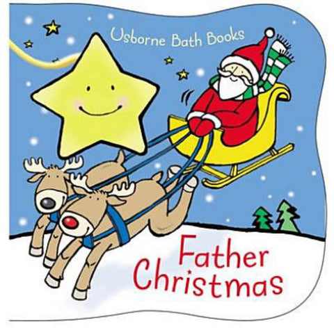 Father Christmas Bath Book  -
