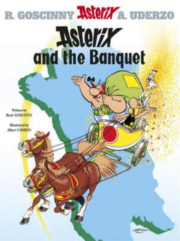 Asterix and the Banquet  by René Goscinny - 9780752866093