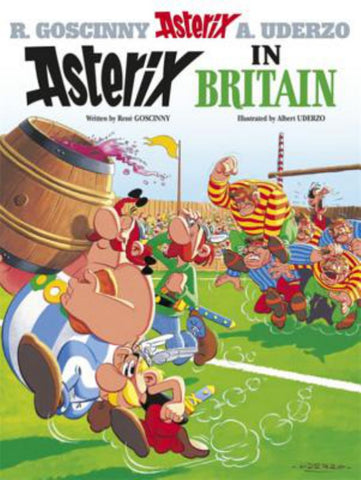 Asterix in Britain  by René Goscinny - 9780752866192