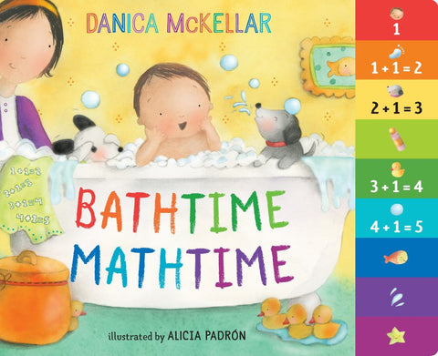 Bathtime Mathtime  by Danica McKellar - 9781101933947