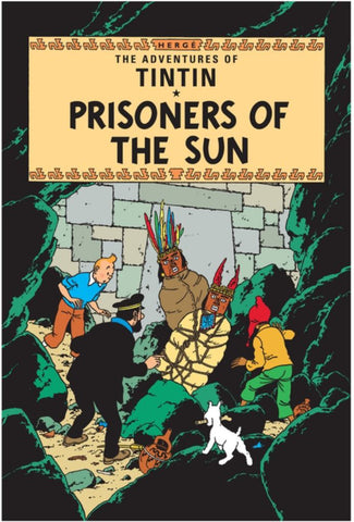 Prisoners of the Sun  by Hergé - 9781405206259