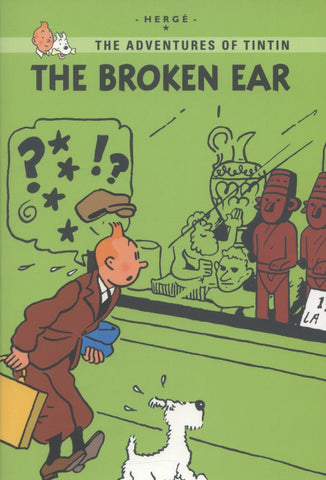 The Broken Ear  by Hergé - 9781405266994