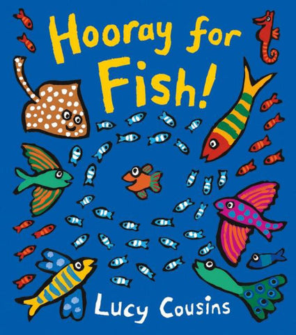 Hooray for Fish! Board Book  by Lucy Cousins - 9781406373158