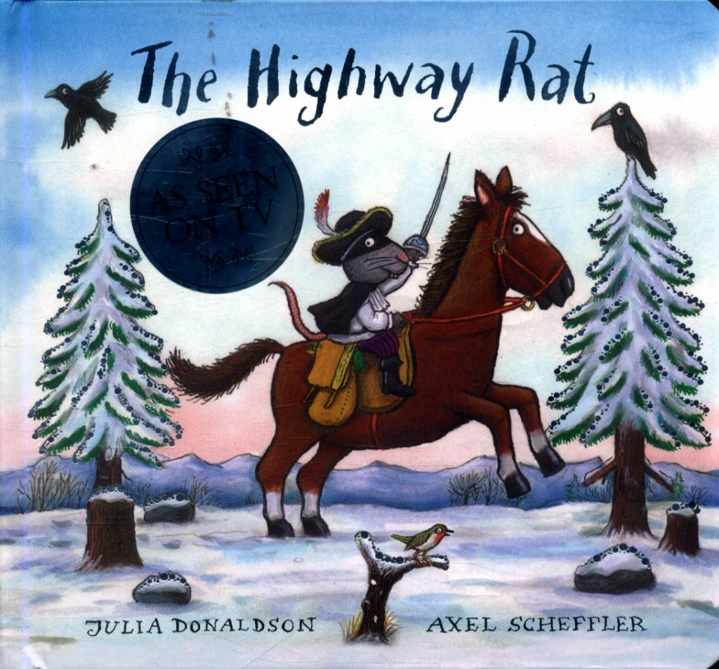 The Highway Rat Christmas  by Julia Donaldson - 9781407181059