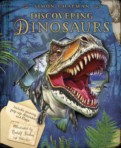 Discovering Dinosaurs  by Simon Chapman - 9781408194614