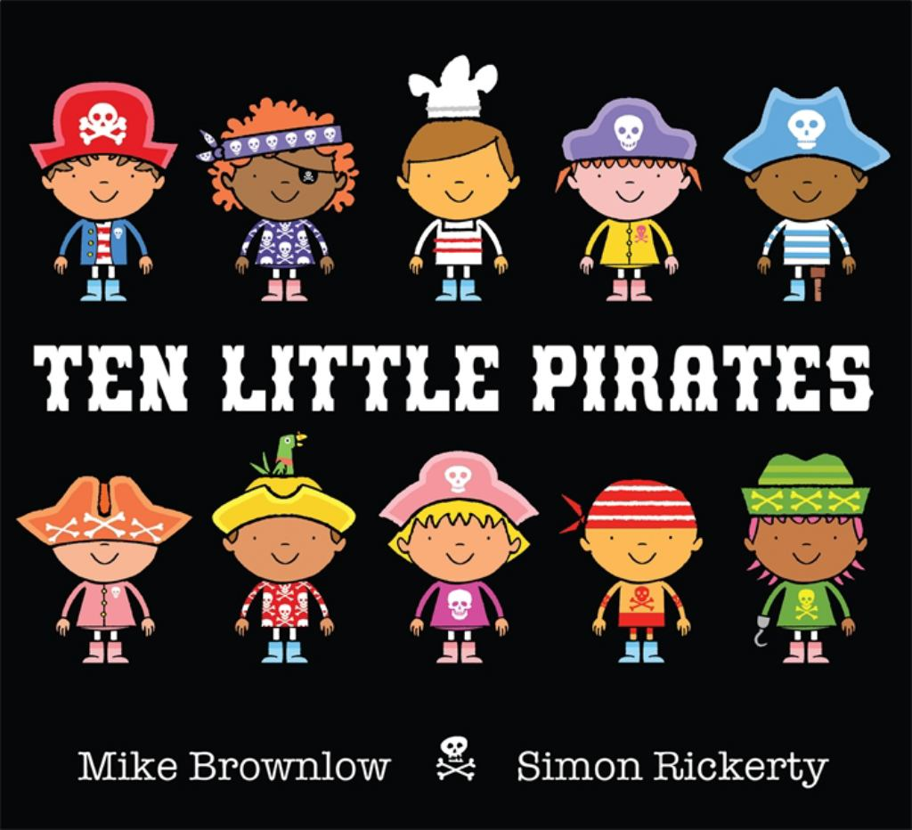 Ten Little Pirates  by Mike Brownlow - 9781408320044
