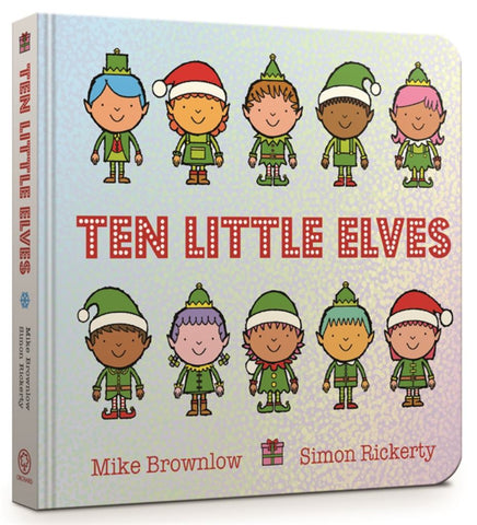 Ten Little Elves  by Mike Brownlow - 9781408354339