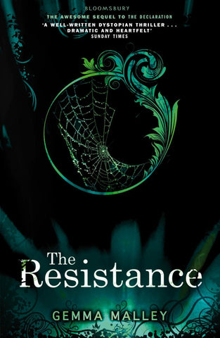 The Resistance  by Gemma Malley - 9781408836903