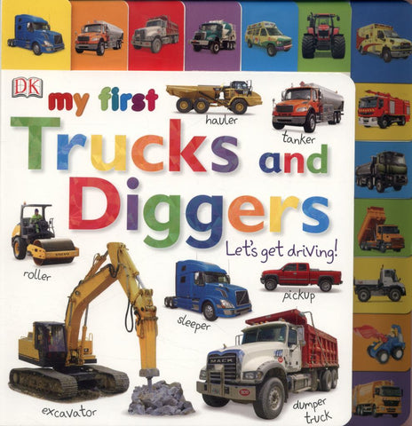 Trucks and Diggers Let's Get Driving