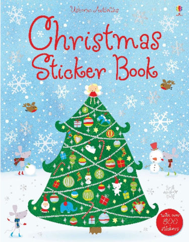 Christmas Sticker Book  -