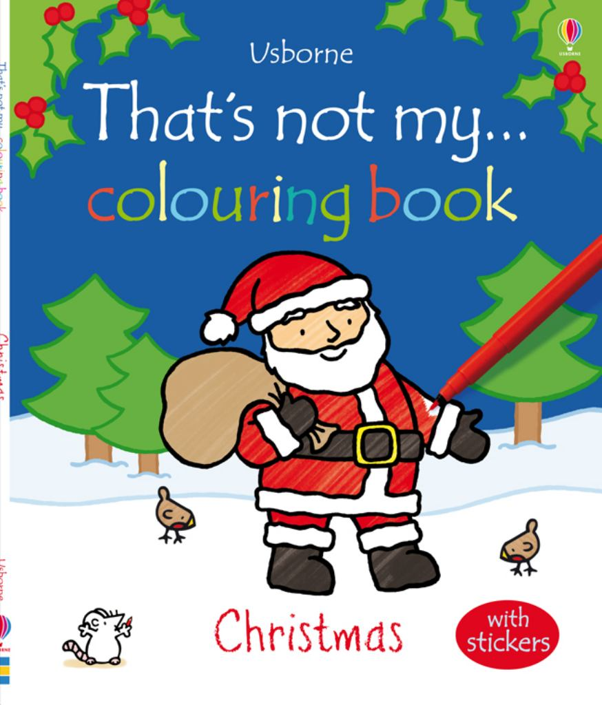 That's Not My Colouring Book Christmas  by Fiona Watt - 9781409530602