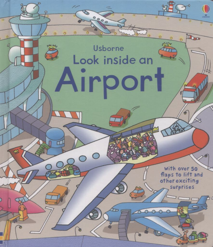 Look Inside an Airport  by Rob Lloyd Jones - 9781409551768