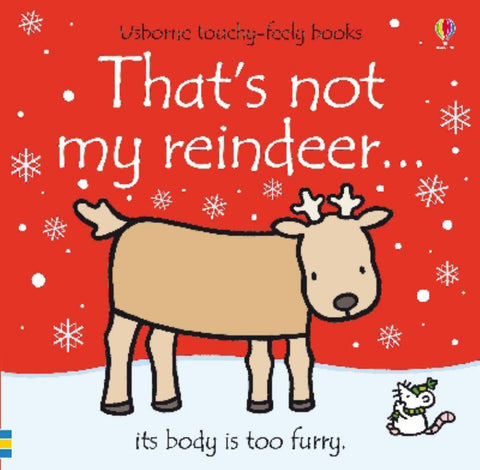 That's Not My Reindeer  by Fiona Watt - 9781409556046