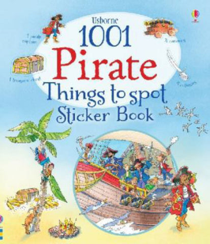 1001 Pirate Things to Spot Sticker Book  -