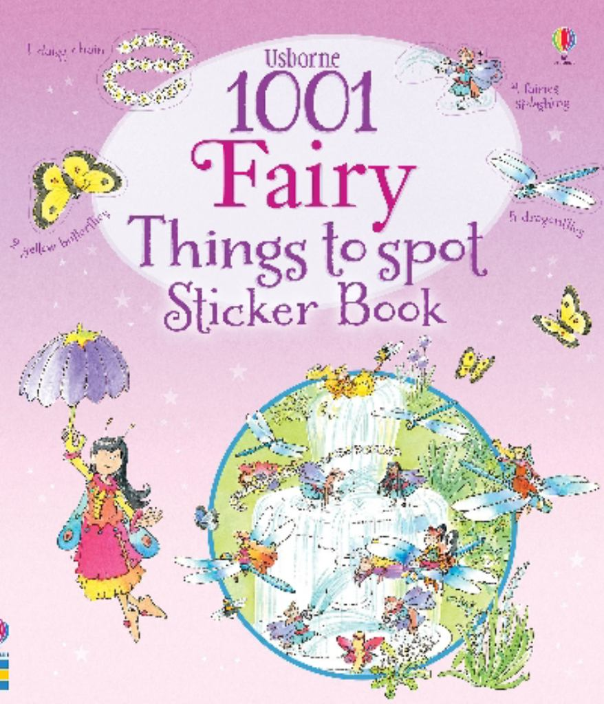1001 Fairy Things to Spot Sticker Book  by Gillian Doherty - 9781409577607