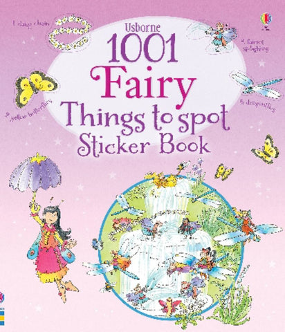 1001 Fairy Things to Spot Sticker Book  -