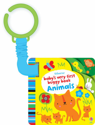 Baby's Very First Buggy Book Animals  by Fiona Watt - 9781409581734