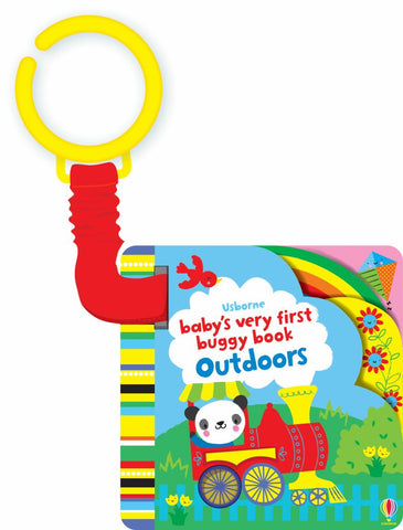 Baby's Very First Buggy Book Outdoors  by Fiona Watt - 9781409581758