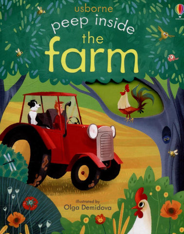Peep Inside a Farm  by Anna Milbourne - 9781409582045