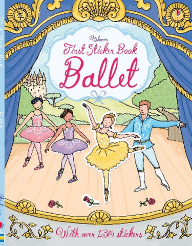 First Sticker Book Ballet  -